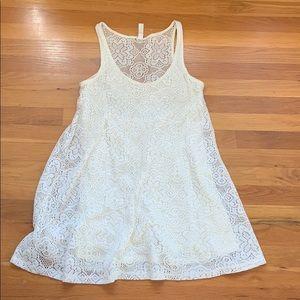 lost ivory summer dress